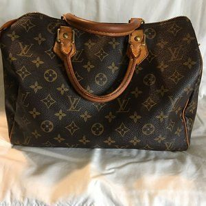 *OFFERS ACCEPTED* Louis Vuitton Speedy 30 used